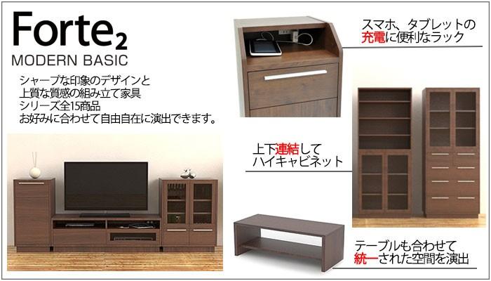 上質な組み立て家具【フォルテ2】