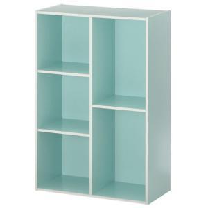 カラーボックス 本棚 ラック 2段 3段 2列 A4 サイズ 横置き 収納 おしゃれ 北欧 幅60 本 おもちゃ コミック 大容量 子供 書棚 木製 多目的ラック|kaguya|22