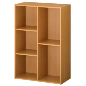 カラーボックス 本棚 ラック 2段 3段 2列 A4 サイズ 横置き 収納 おしゃれ 北欧 幅60 本 おもちゃ コミック 大容量 子供 書棚 木製 多目的ラック|kaguya|18