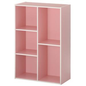 カラーボックス 本棚 ラック 2段 3段 2列 A4 サイズ 横置き 収納 おしゃれ 北欧 幅60 本 おもちゃ コミック 大容量 子供 書棚 木製 多目的ラック|kaguya|23