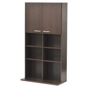 本棚 CDラック DVDラック インテリア 家具 おしゃれ 北欧風 収納 スリム シンプル|kaguya|07