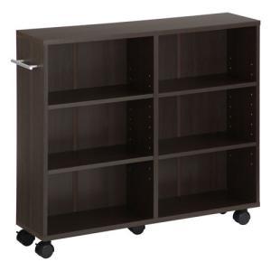 本棚 チェスト 押入れ収納 キャスター付き 木製 隙間 すきまラック CD DVD ラック 隙間収納 ボックス|kaguya|19