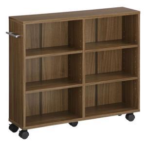 本棚 チェスト 押入れ収納 キャスター付き 木製 隙間 すきまラック CD DVD ラック 隙間収納 ボックス|kaguya|22