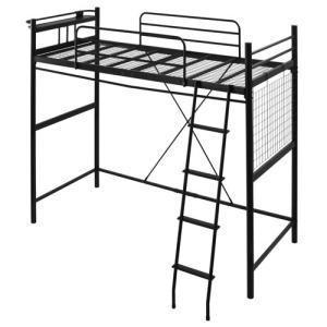 ロフトベッド ハイタイプ ロータイプ はしご ベッド ベット ロフトタイプ パイプ フレーム コンセント 棚付き 一人暮らし おしゃれ|kaguya|21