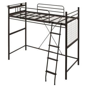 ロフトベッド ハイタイプ ロータイプ はしご ベッド ベット ロフトタイプ パイプ フレーム コンセント 棚付き 一人暮らし おしゃれ|kaguya|22