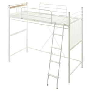 ロフトベッド ハイタイプ ロータイプ はしご ベッド ベット ロフトタイプ パイプ フレーム コンセント 棚付き 一人暮らし おしゃれ|kaguya|23