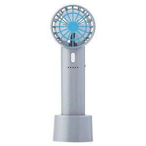 ハンディファン 扇風機 コンパクト アロマ モバイルバッテリー USB ストラップ 卓上 充電式 5段階 強力 暑さ対策グッズ おしゃれ|kaguya|18