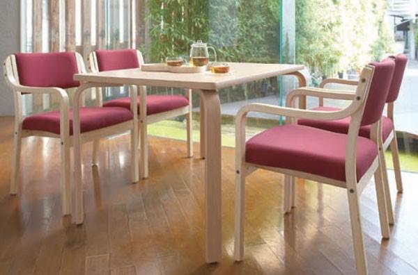 パルアームイスNA 11404-A 全肘タイプ スタッキング 施設向け椅子の説明
