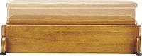 可変木製玄関台 安寿(アロン化成)