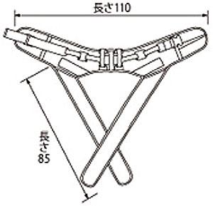 テイコブX型入浴用介助ベルト(M) AB11の説明