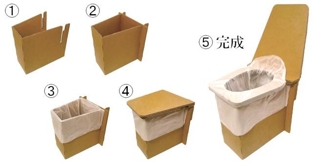 @トイレ アットトイレの組立方法