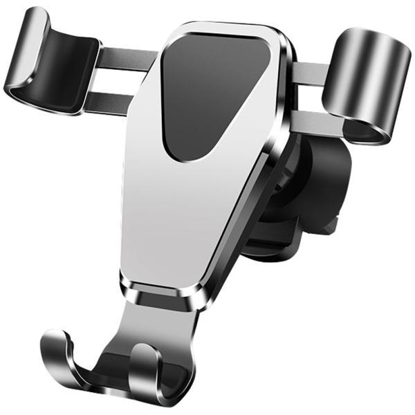 車載ホルダー スマホ スマートフォン フォルダー 車用 高級 カーナビ スタンド エアコン吹き出し口 重力サポート 車内用品 運転支援 全自動感応 iPhone Android|kaimonotengoku|19