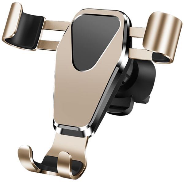 車載ホルダー スマホ スマートフォン フォルダー 車用 高級 カーナビ スタンド エアコン吹き出し口 重力サポート 車内用品 運転支援 全自動感応 iPhone Android|kaimonotengoku|20