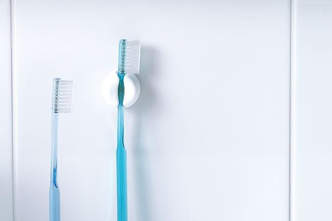 マーナ 歯ブラシホルダー 2個セット きれいに暮らす。 洗面シリーズ