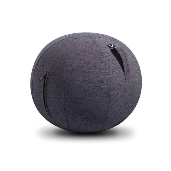 バランスボール チェア vivora ビボラ シーティングボール ルーノ シェニール バランスボール 体幹 トレーニング エクササイズ 姿勢 ヨガ 椅子|kajitano|09