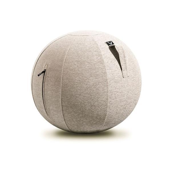 バランスボール チェア vivora ビボラ シーティングボール ルーノ シェニール バランスボール 体幹 トレーニング エクササイズ 姿勢 ヨガ 椅子|kajitano|10