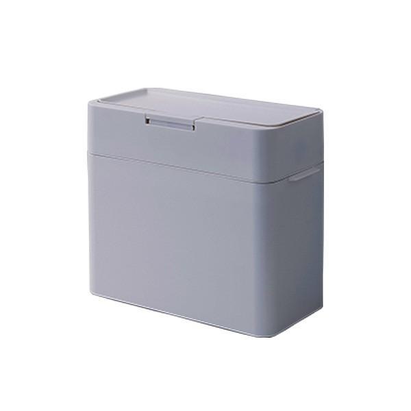 Seals シールズ 密閉ダストボックス 9.5L  キッチン ゴミ箱 スリム ふた付き キッチン おしゃれ 横開き ごみ箱 スマート シンプル 生ゴミ トイレポット 日本製|kajitano|07