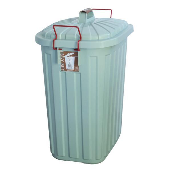 ゴミ箱 おしゃれ 分別 ペールペール 屋外 大型 45リットル ゴミ袋 ふた付き ペールxペール PALE x PAIL 60L 日本製|kajitano|09
