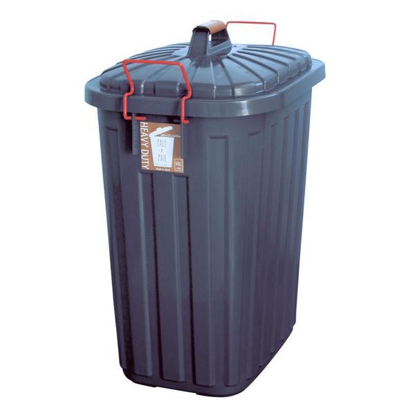 ゴミ箱 おしゃれ 分別 ペールペール 屋外 大型 45リットル ゴミ袋 ふた付き ペールxペール PALE x PAIL 60L 日本製|kajitano|11