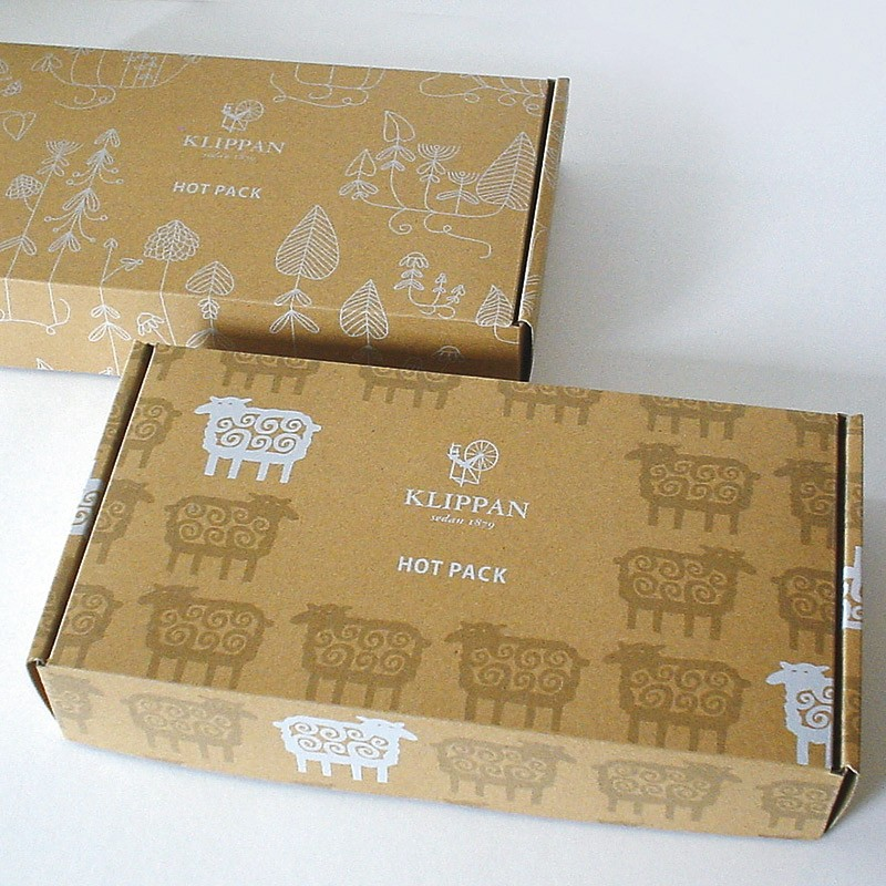クリッパン 麦のホットパック ラベンダーの香り パッケージ