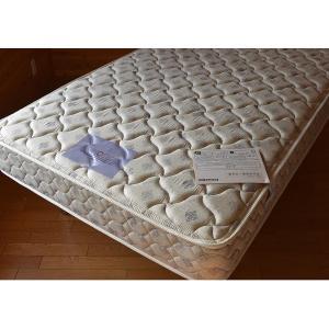 マットレス フランスベッド 高密度連続スプリング シングルサイズ 002 【大型商品のため日時指定不可】 kakinumakagu 07