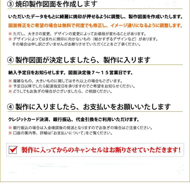 焼印の注文方法2