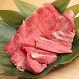 市場に回らない貴重部位バリ肉