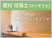 壁材 珪藻土(けいそう土)
