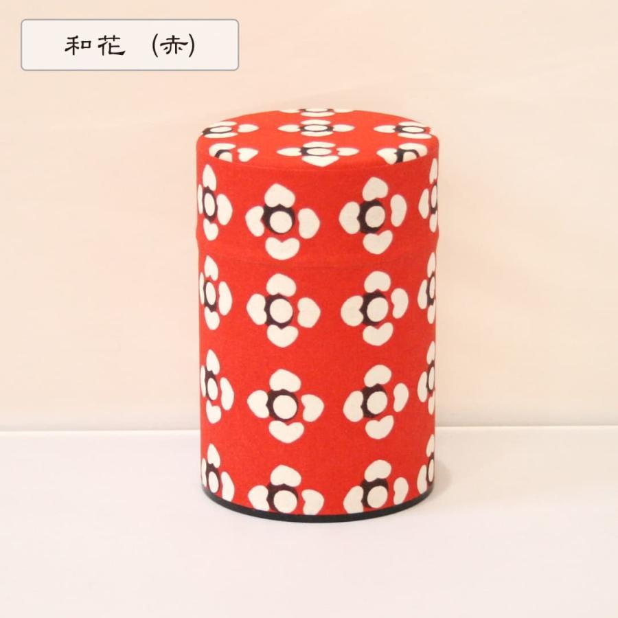 茶筒 茶缶 型染和紙 京都 おしゃれ お茶 紅茶|kamon-sakuraya|11