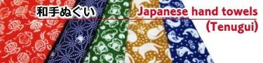 海外で人気の日本手拭。汗ふき、バンダナ、