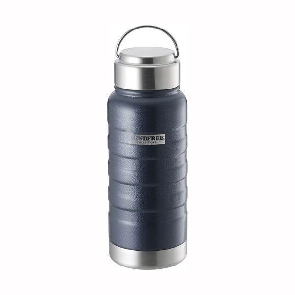 水筒 ステンレスボトル マグボトル 550ml 直飲み 保温 保冷 真空二重断熱 ネイビー ホワイト|kanaemina|05
