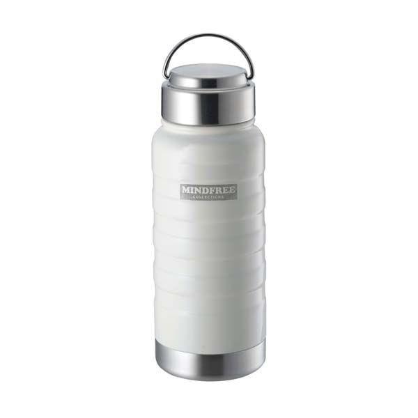 水筒 ステンレスボトル マグボトル 550ml 直飲み 保温 保冷 真空二重断熱 ネイビー ホワイト|kanaemina|06
