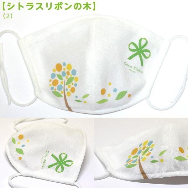 接触冷感シトラスリボンマスク大人用(愛媛県/日本製)洗える1枚入 kanbankobo 22