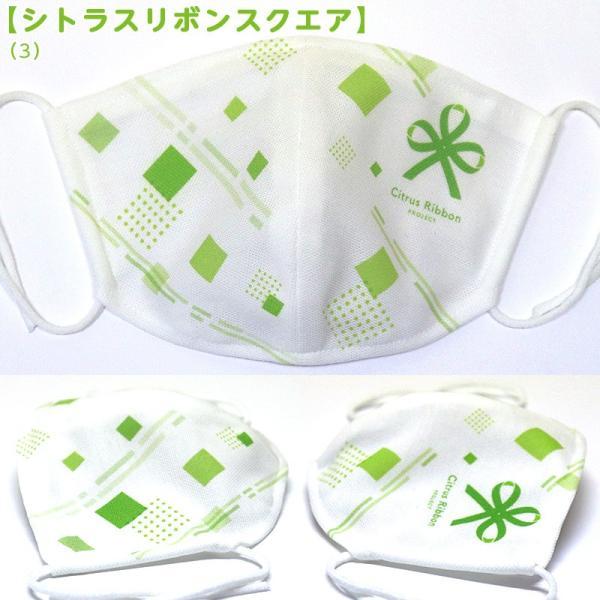 接触冷感シトラスリボンマスク大人用(愛媛県/日本製)洗える1枚入 kanbankobo 23