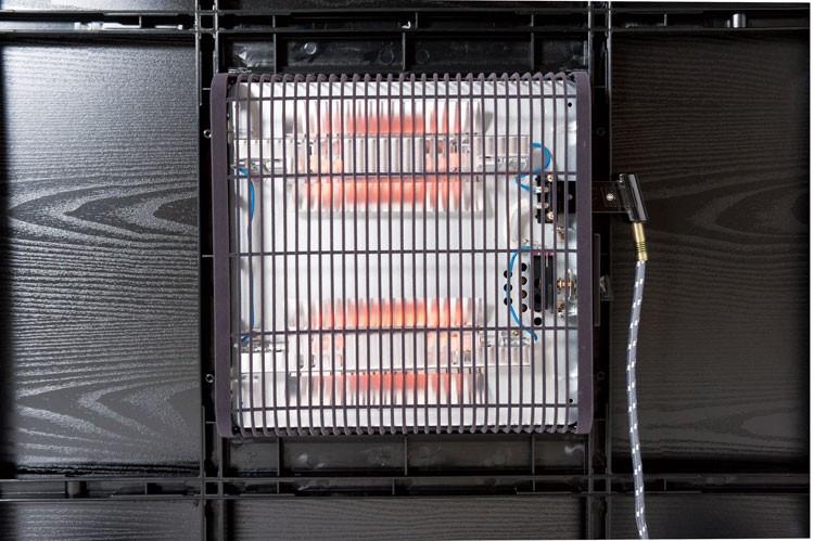 【特価・送料無料】60×60cm カジュアルコタツ ブラック ナチュラル リバーシブル [こたつ 正方形 テーブル おしゃれ 北欧 ヒーターユニット セット カバー 布団 無し]