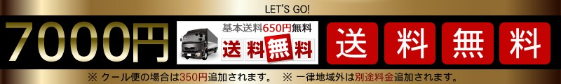 7000円送料無料