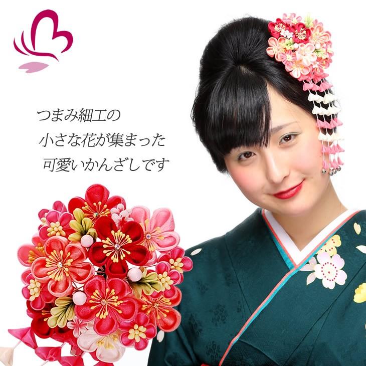 【一輪花髪飾り】914615