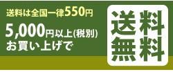 5000円以上で送料無料!!
