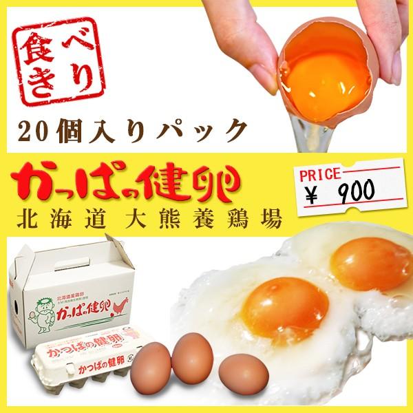 「かっぱの健卵」 20個入り