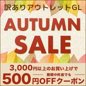 AUTUMN SALE 500円OFFクーポン
