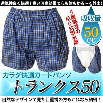 尿漏れ対策パンツ