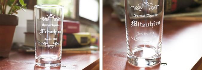 贈り物・記念品に名入れハイボールグラス