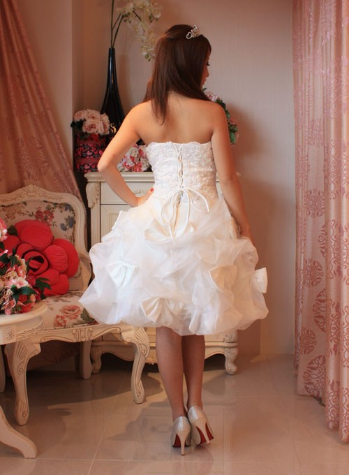 フリルカラードレス6