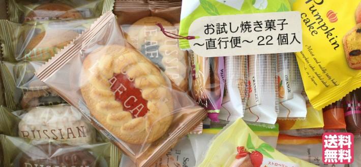お試し 焼き菓子 〜 直行便 〜 22個入 送料無料