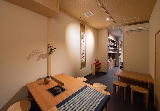 原ヲビヤ園茶舗 店内写真