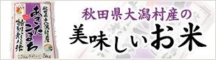 秋田県大潟村産の美味しいお米