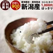 新潟産コシヒカリ900g