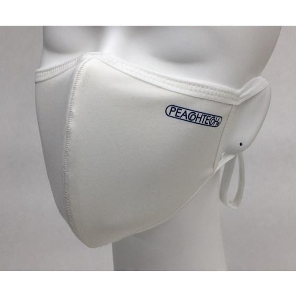 布マスク 日本製マスク 肌荒れ 快適 おすすめ 小林縫製 マスク 綿素材 おしゃれ 洗える  肌に優しい 吸水速乾 UVカット 透湿性 -  ピーチテック|kbsb|19