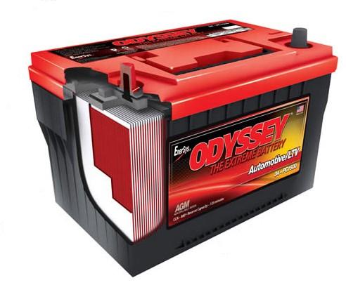 ODYSSEYバッテリー
