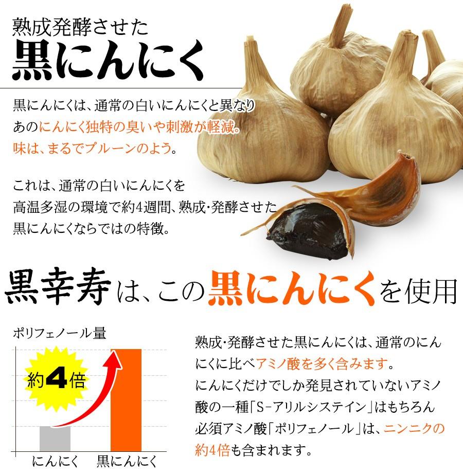 熟成発酵 黒にんにく スタミナ 生酵素 黒幸寿 黒にんにく 黒生姜 黒酢もろみ